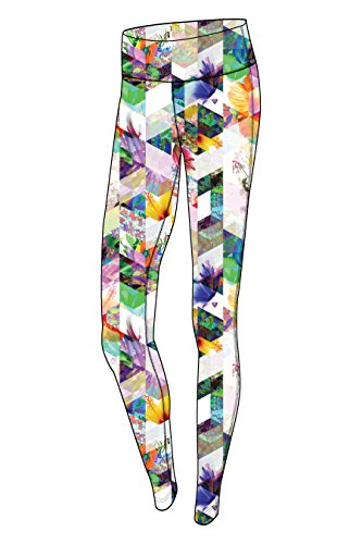 Obermeyer 19012 Women's Anni Sport 75wt Tight, Chevron Floral - XS