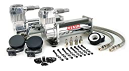 VIAIR 444C 200 PSI Dual Value Pack - Chrome