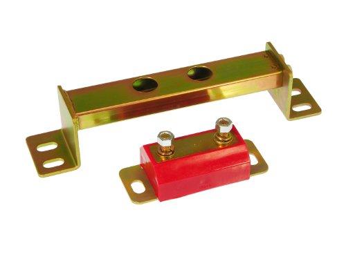 Prothane 6-1606 Red Transmission Mount X-Member Combo Kit