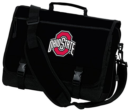 Broad Bay Ohio State University Laptop Bag OSU Buckeyes Computer Bag or Messenger Bag by Broad Bay