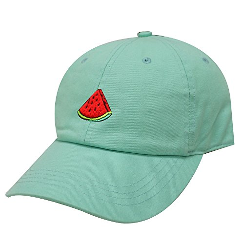 (City Hunter C104 Watermelon Cotton Baseball Cap 13 Colors)