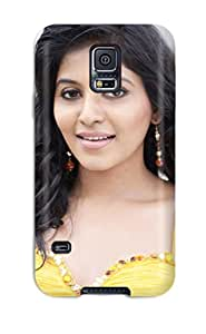 4573193K90472010 For Galaxy Case, High Quality Anjali For Galaxy S5 Cover Cases