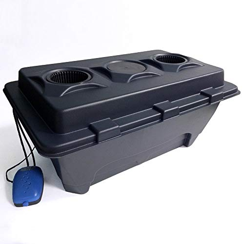 1 2 4 or 6 Pots IWS Deep Water Culture DWC OxyPot Bubbler Hydroponic System Kit (2 – Oxypot XL)
