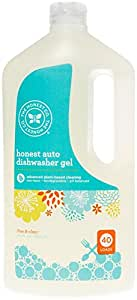 Honest Auto Dishwasher Gel, Free & Clear, 40 Ounce