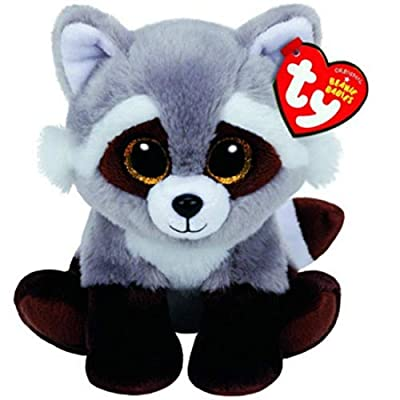 "Ty Beanie Babies 6"" Bandit The Racoon, Perfect Plush!: Toys & Games"