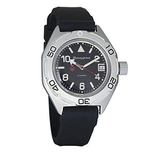 Dive Resin Watch Case (Vostok Amphibian Military Automatic WR 200m Mens Self-winding Amphibia Case Wrist Watch #670536 (resin))