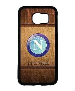 Italian Serie A Napoli Samsung Galaxy S6 Fundas Case NEA Logo Colorful Hard Plastic Fundas Case for Samsung Galaxy S6