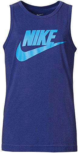 Classic Print Tank Top (Nike Boy's Classic Logo Graphic Print Athletic Tank Top (M))