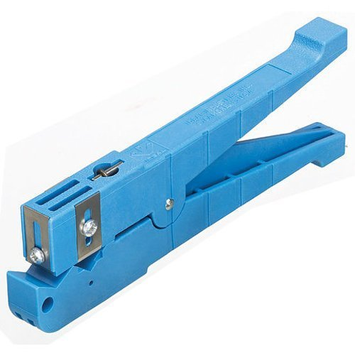 Ideal Industries Blue Coaxial Cable Stripper, 1/4'' to 9/16'' Cutting Diameter