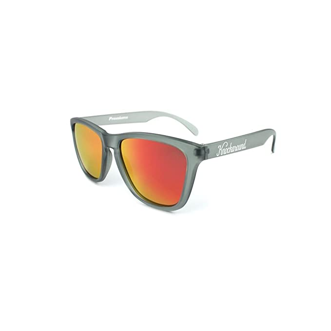Gafas de sol Knockaround Classic Premium Frosted Grey / Red Sunset