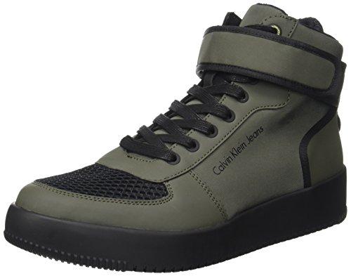 Nylon Marrone Sneaker Cargo Uomo Calvin Rub Gent Smooth Klein IOTgz