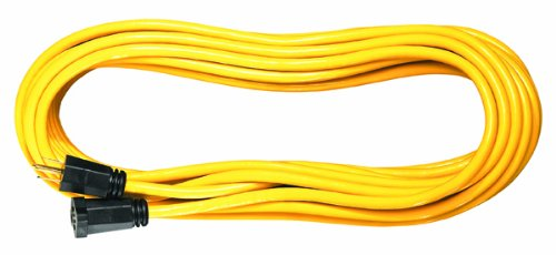 Voltec 05-00108 16/3 SJTW Outdoor Extension Cord, 25-Foot (Yellow)