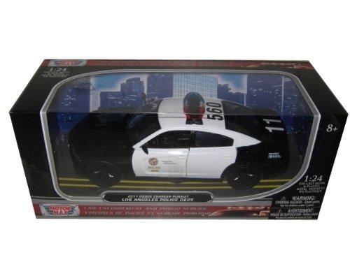 Motormax 2011 Dodge Charger Pursuit LAPD Los Angeles Police