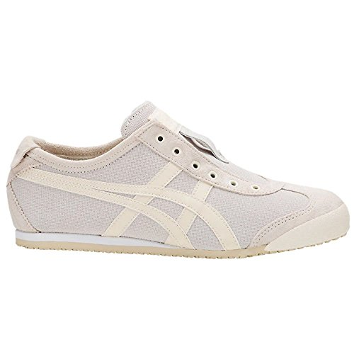 Onitsuka Tiger Unisex Mexico 66 Slip-on Shoes 1183A042, Cream/Oatmeal, 6.5 M ()