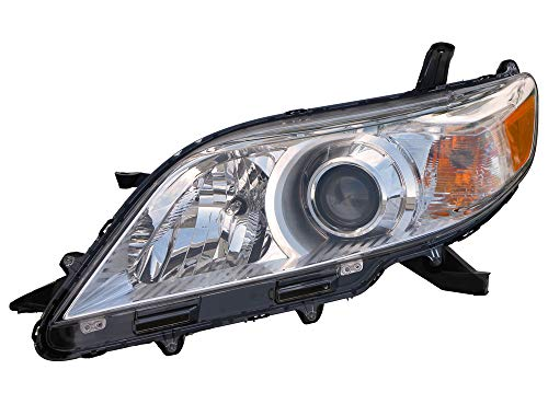 For 2011 2012 2013 2014 Toyota Sienna Base/Le/Xle Model Headlight Headlamp Assembly Driver Left Side Replacement TO2502199
