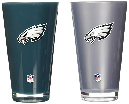 (NFL Philadelphia Eagles 20oz Insulated Acrylic Tumbler Set of 2 )