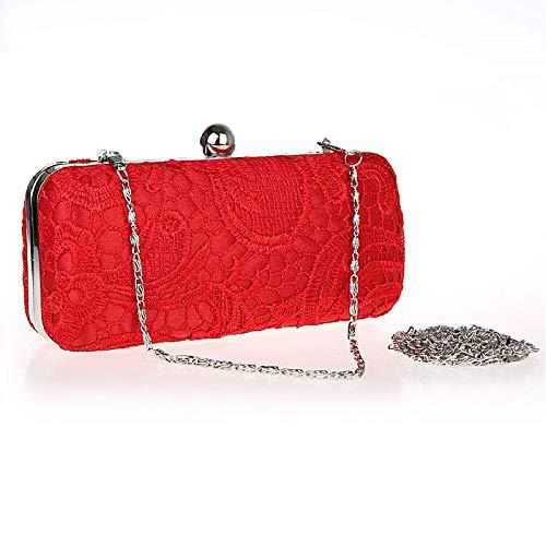Mini Spitze Abend Handtaschen,Frau Exquisit Clutch Bag Bag Bag In Ihrem Zuhause Am Abend Partei Prom Am Abend Bag Für Präsentiert-E 18x8cm(7x3inch) B07GRWZQJG Clutches Abholung in der Boutique 11a39a