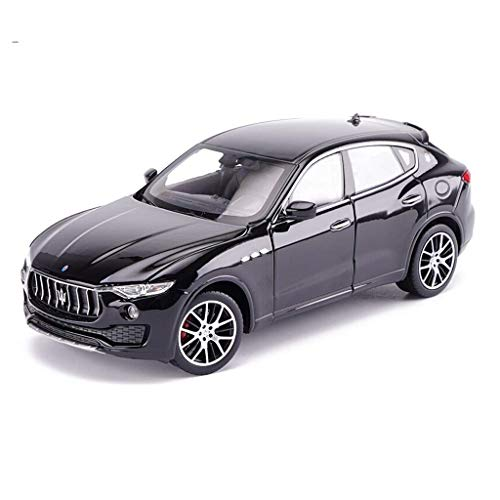 NY YN Modle Car 1/24 Static Model Maserati Levante Off-Road Car Model Toys Green for Boy Gifts Collection Vehicle Playsets