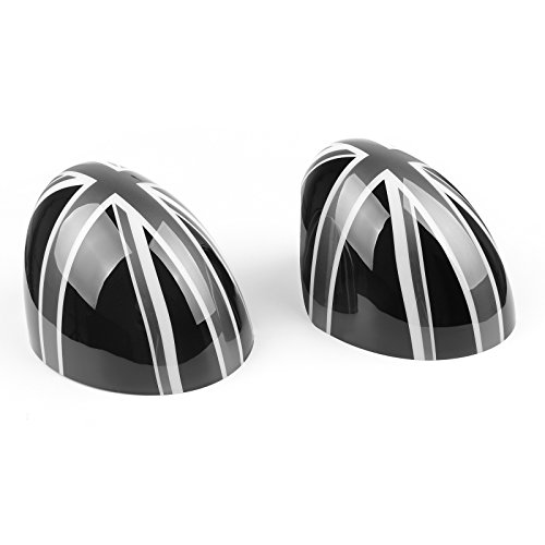 Areyourshop Side Mirror Caps Set Covers for MINI Cooper Hardtop 2014 F55 & 2015 F56