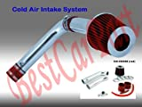 99 00 01 02 03 Acura TL with 3.2L V6 (Base, Non Type S) Cold Air Intake + Red Filter CHD8R