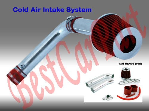 - 99 00 01 02 03 Acura TL with 3.2L V6 (Base, Non Type S) Cold Air Intake + Red Filter CHD8R