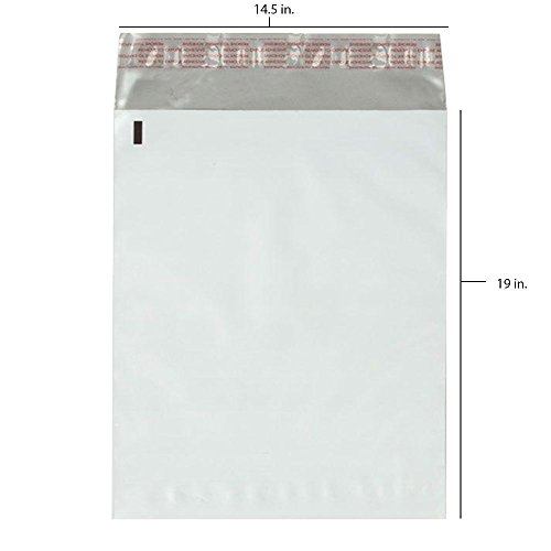 200 - 14.5x19 Fosmon Self-Seal Tear-Proof Polyethylene Mailers (200 - Lable Ups