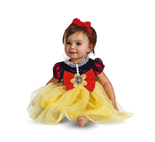 The First Halloween Costumes (Disguise My First Disney Snow White Costume, Red/Blue/Yellow, 12-18)