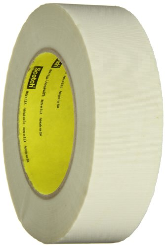 3M Glass Cloth Tape 361 White, 1-1/2 in  x 60 yd 7.5 mil