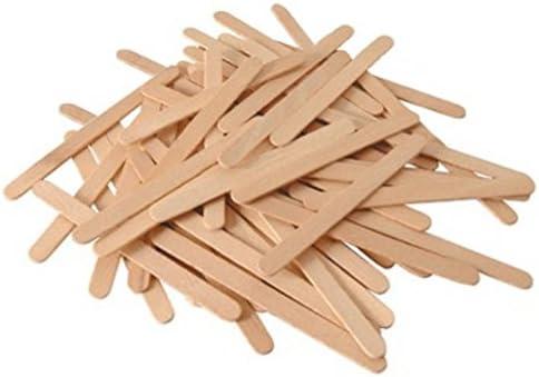 Los 48 palillos de madera para polos: Amazon.es: Hogar