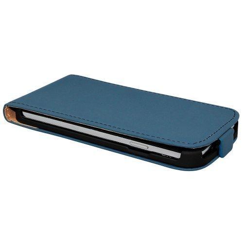 avci Base 4260383187934Flip PU Housse en simili cuir pour Apple iPhone 6Plus Bleu