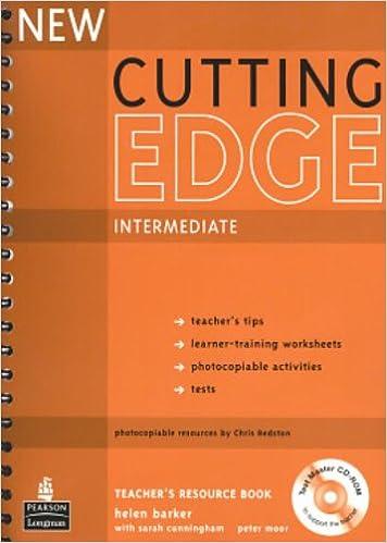 Workbook cutting worksheets : New Cutting Edge Intermediate: Teacher's Book Plus Test Master CD ...