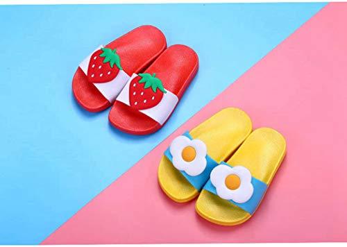Pvc Plage Chaussures De Intérieure Diapo Femmes Slip Salle Tongs Toes Peep Souple Plat Anti Sandales Accueil Rouge Chaussons Bain ZxwCtCqB