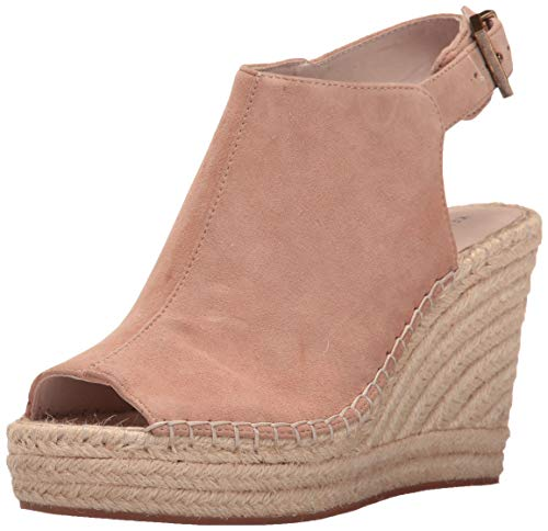 Kenneth Cole New York Women's Olivia Espadrille Wedge Sandal, Almond, 6 M US