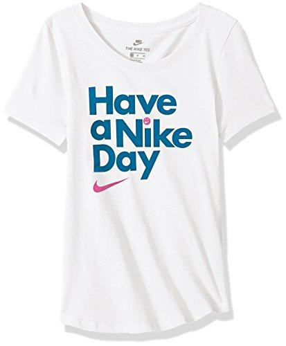 あいまいな旅行者問題NikeスポーツウェアGirls ' Have A DayスクープTシャツ
