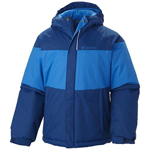 Columbia Sportswear Boys Alpine Action Jacket, Marine Blue, XX-Small