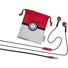 New! Pokémon Noise-Isolating Earbuds with Built in Microphone and Pouch