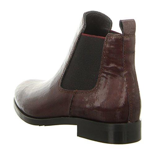 21088 f0191 Women's nero Boots Maripé bordo nOqAdYYx