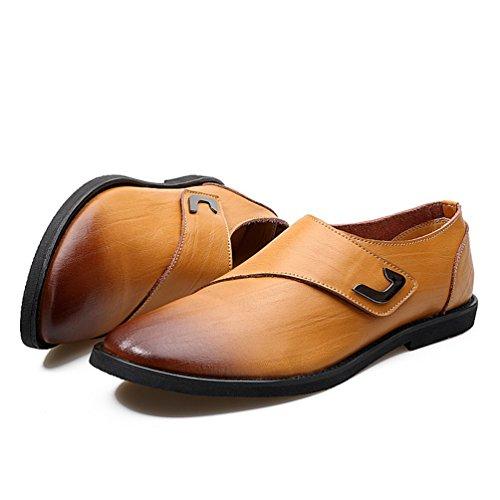Hombre Claro Feidaeu Feidaeu Zapatos Marrón Zapatos fxaqzt
