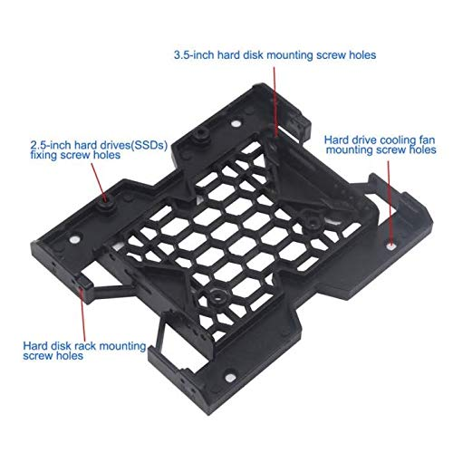 2.5 Inch To 3.5 Inch SSD HDD Adapter Rack Hard Drive SSD Mounting Bracket RL