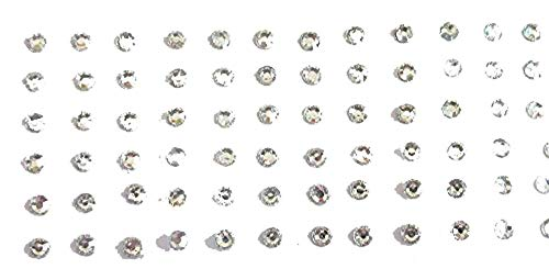 120 Silver Dots 2.5 mm Stick On Fake Nose Studs/Silver Fake Nose labret Eye Piercing Stud/Self Adhesive Nose Stud/Fake Nose Stud/Costume Jewels