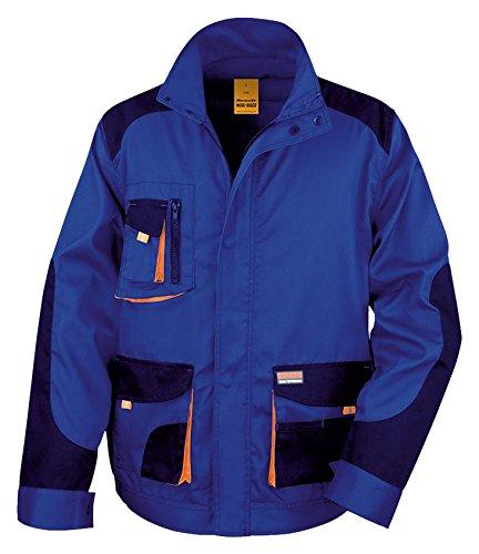 navy nbsp;x Risultato Work Lite Jacket guard Royal Unisex orange R316 WwZq8wOxTR
