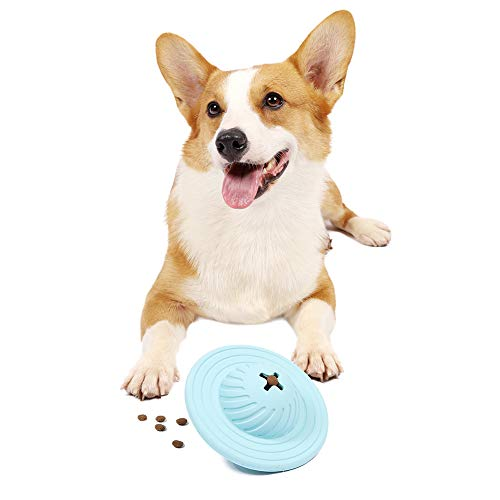 PetFun Dog Puzzle Toys for Large Dogs, Dog Treat Dispenser for Large Medium Small Dogs Entertainment Puzzle Toys Blue