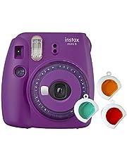 Fujifilm instax Mini 9, met kleurlenzen, lila, Kompakt