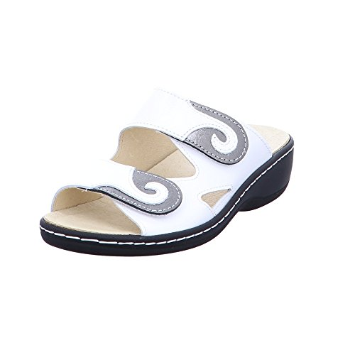 pour weiß Mules comfort 1006401 Longo offwhite Femme w8qtaExX