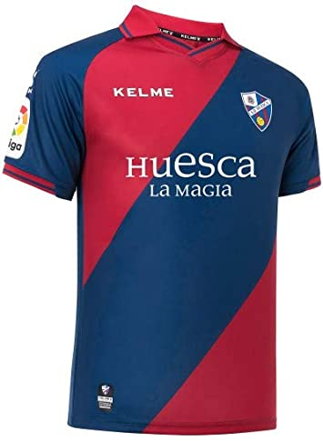 KELME Camiseta 1ª EQUIPACIÓN 18/19 S.D HUESCA con Publicidad ...