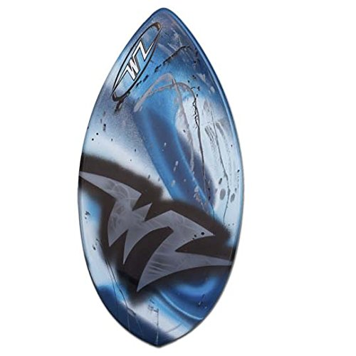 Wave Zone Edge - 41'' Fiberglass Skimboard for Riders up to 130 Lbs - Blue by Wave Zone Skimboards