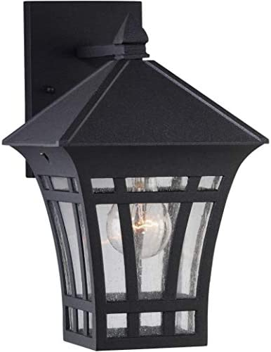 Sea Gull Lighting 88132-12 Herrington Transitional One-Light Outdoor Wall Lantern Outside Fixture