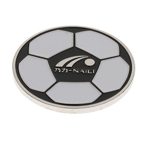 MagiDeal Football Soccer Referee Flip Coin Judge Toss Coin