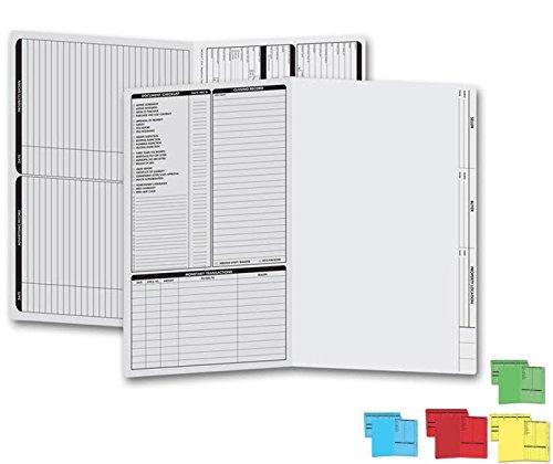 EGP Letter Size Real Estate Listing Folder Grey