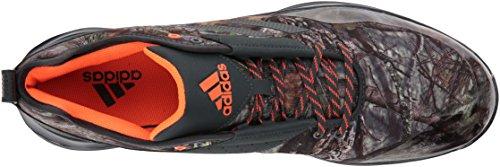 Scarpa Da Cross Adidas Performance Uomo Velocità 3.0 Grigio Scuro / Grigio Scuro / Bianco